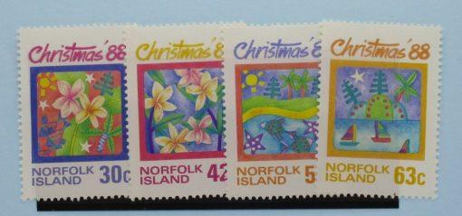 Norfolk Islands Stamps, 1988, SG448-451, Mint 3