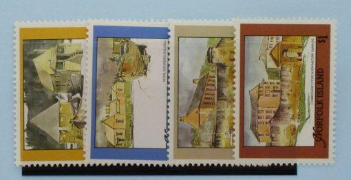 Norfolk Islands Stamps, 1988, SG452-455, Mint 3