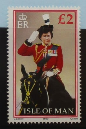 Isle of Man Stamps, 1988-92, SG380a, Mint 3