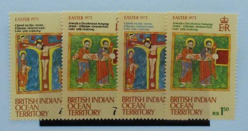British Indian Ocean Territory Stamps, 1973, SG47-50, Mint 3