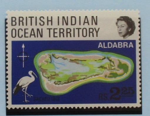 British Indian Ocean Territory Stamps, 1969, SG31, Mint 3