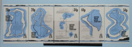 British Indian Ocean Territory Stamps, 1994, SG147-151, Mint 3