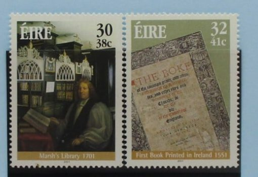 Ireland Stamps, 2001, SG1400-1401, Mint 3