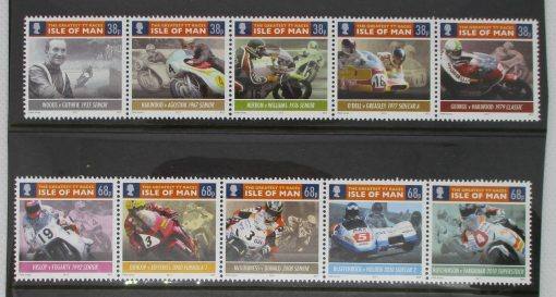 Isle of Man Stamps, 2011, SG1658a, SG1663a, Mint 3