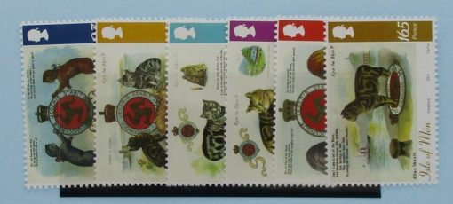 Isle of Man Stamps, 2011, SG1676-1681, Mint 3