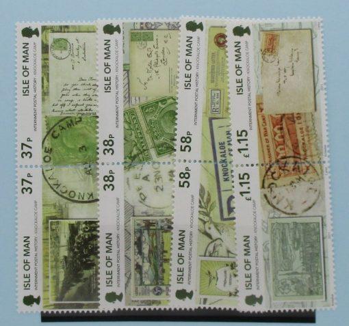 Isle of Man Stamps, 2011, SG1682a, SG1864a, SG1686a, SG1688a, Mint 3