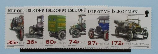 Isle of Man Stamps, 2010, SG1597-1602, Mint 3