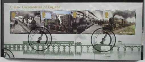 Great Britain Stamps, 2011, MS3144, Used 3
