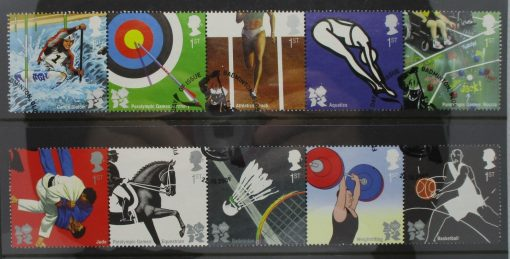 Great Britain Stamps, 2009, SG2981a, SG2986a, Used 3