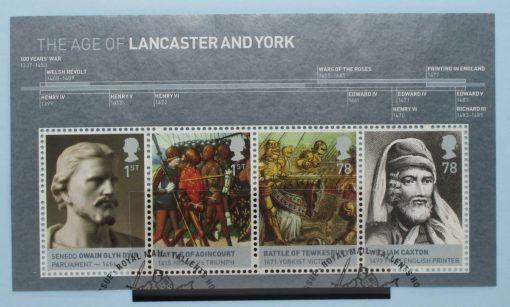 Great Britain Stamps, 2008, MS2818, Used 3