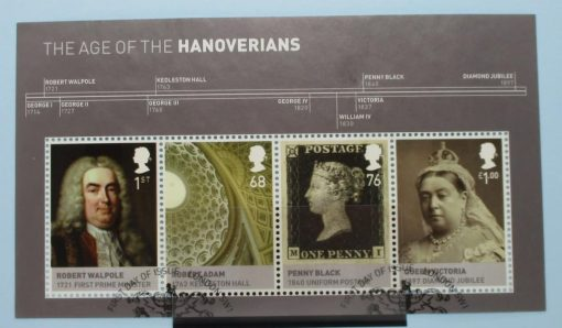 Great Britain Stamps, 2011, MS3229, Used 3