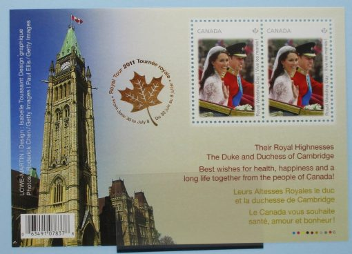 Canada Stamps, 2011, MS2797, Mint 3