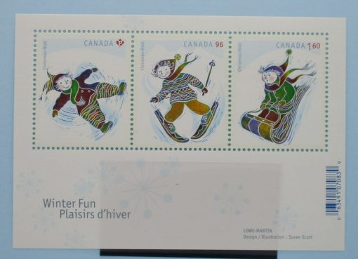 Canada Stamps, 2008, MS2580, Mint 3