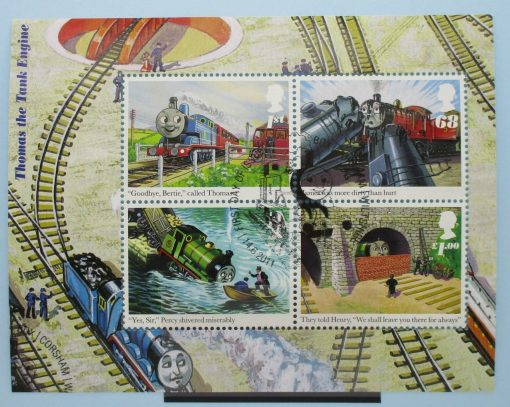 Great Britain Stamps, 2011, MS3193, Used 3