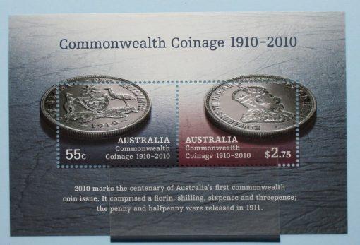 Australia Stamps, 2010, MS3352, Mint 3