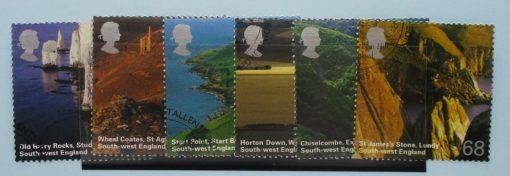 Great Britain Stamps, 2005, SG2512-2517, Used 3