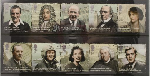 Great Britain Stamps, 2009, SG2971a, SG2976a, Used 3