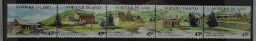 Norfolk Islands Stamps, 1993, SG541-545, Mint 3