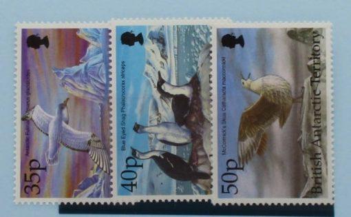 British Antarctic Territory Stamps, 1998, SG296-298, Mint 3