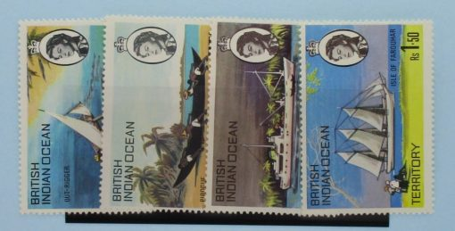 British Indian Ocean Territory Stamps, 1969, SG32-35, Mint 3