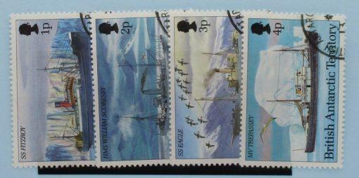 British Antarctic Territory Stamps, 1993, SG218-221, Used 3
