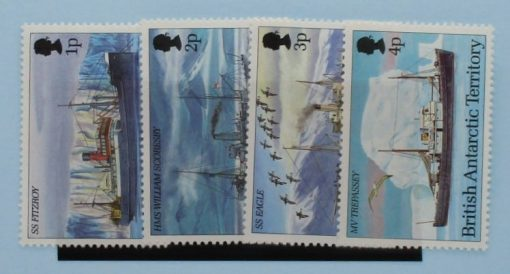 British Antarctic Territory Stamps, 1993, SG218-221, Mint 3
