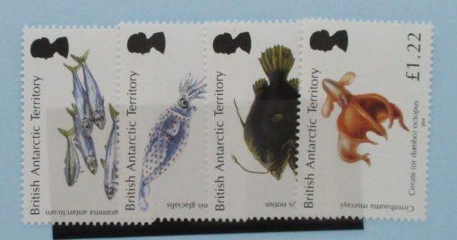 British Antarctic Territory Stamps, 2016, SG695-698, Mint 3