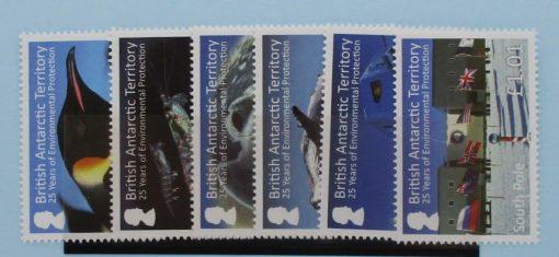 British Antarctic Territory Stamps, 2016, SG685-690, Mint 3