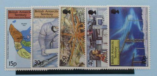 British Antarctic Territory Stamps, 1999, SG307-311, Mint 3