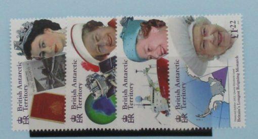 British Antarctic Territory Stamps, 2015, SG659-662, Mint 3