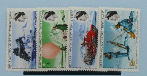 British Antarctic Territory Stamps, 1969, SG20-23, Mint 3