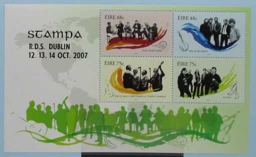 Ireland Stamps, 2006, MS1817, Mint 3