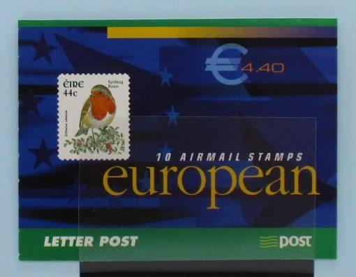 Ireland Stamps, 2002, SB98, Mint 3
