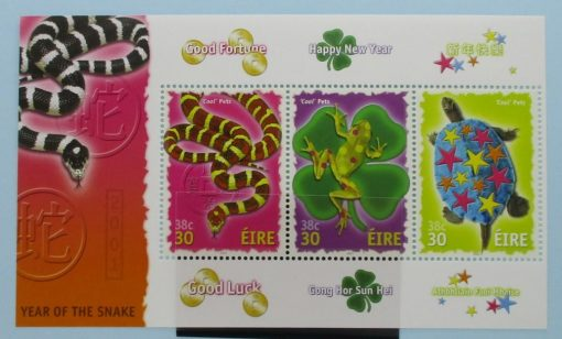 Ireland Stamps, 2001, MS1395, Mint 3