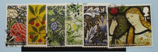 Great Britain Stamps, 2011, SG3181-3186, Used 3