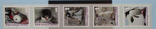 British Antarctic Territory Stamps, 2016, SG711-715, Mint 3