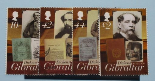 Gibraltar Stamps, 2012, SG1465-1468, Used 3