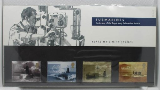 Great Britain Stamps, 2001, SG2202-2205, Mint 3