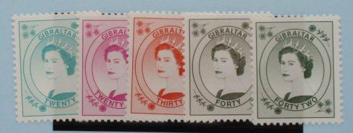 Gibraltar Stamps, 1999-2001, SG863-867, Mint 3