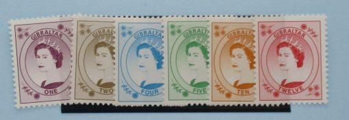 Gibraltar Stamps, 1999-2001, SG857-862, Mint 3