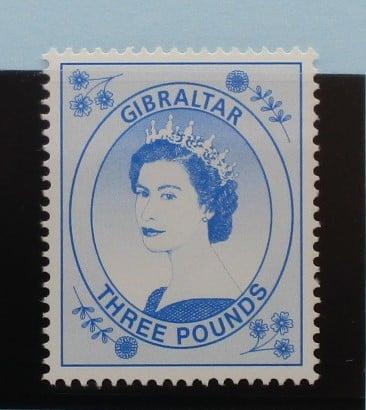 Gibraltar Stamps, 1999-2001, SG870, Mint 3