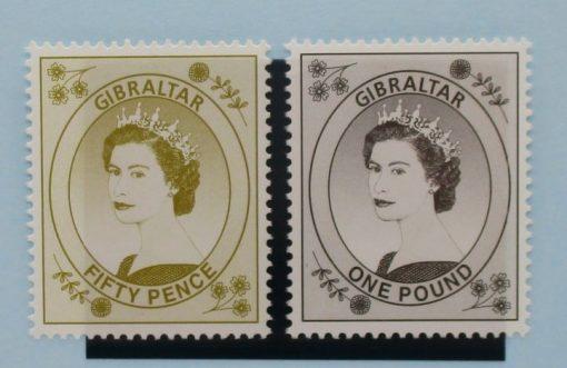 Gibraltar Stamps, 1999-2001, SG868-869, Mint 3