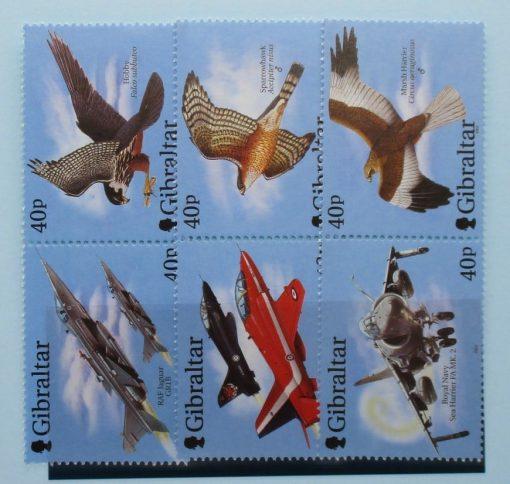 Gibraltar Stamps, 2001, SG982a, SG984a, SG986a, Mint 3