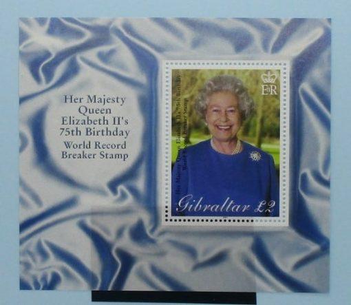 Gibraltar Stamps, 2001, MS977, Mint 3