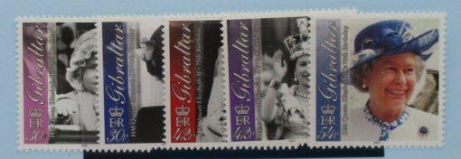 Gibraltar Stamps, 2001, SG972-976, Mint 3