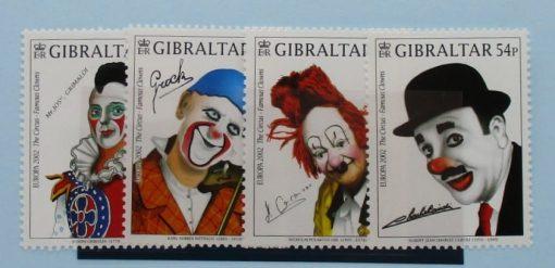 Gibraltar Stamps, 2002, SG1002-1005, Mint 3