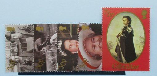Gibraltar Stamps, 2002, SG996-1000, Mint 3