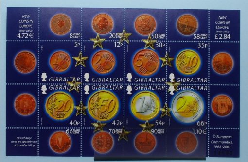 Gibraltar Stamps, 2002, MS995, Mint 3