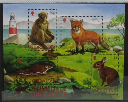 Gibraltar Stamps, 2002, MS1015, Mint 3