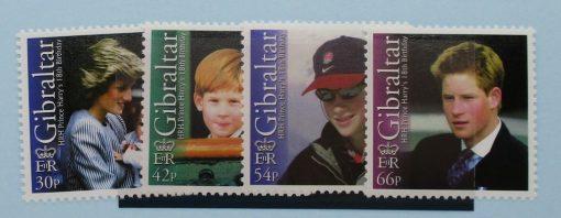 Gibraltar Stamps, 2002, SG1020-1023, Mint 3